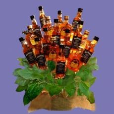 Kytice s alkoholem