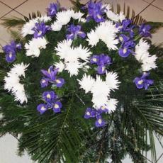 Smuteční kytice 11