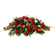 Smuteční kytice 23