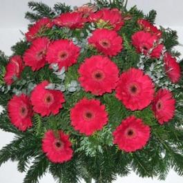 Smuteční kytice 5
