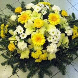 Smuteční kytice 6