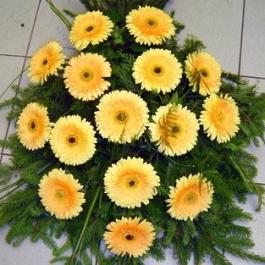 Smuteční kytice 8