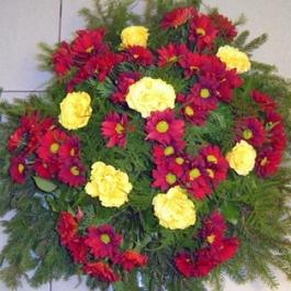 Smuteční kytice 9