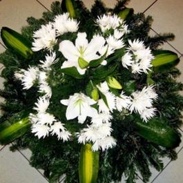 Smuteční kytice 1