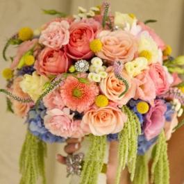Svatební kytice Sofie 11